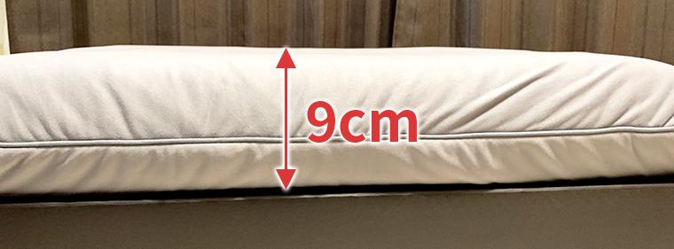 LIMNE枕の高さ